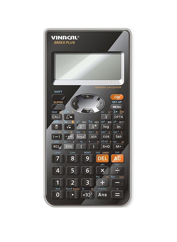 MÁY TÍNH VINACAL 680EX PLUS- ĐEN XÁM